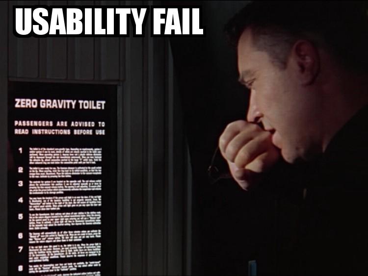 Un problema di usabilità